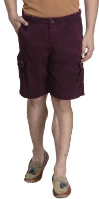 MONTEIL & MUNERO Solid Men's Purple Boxer Shorts