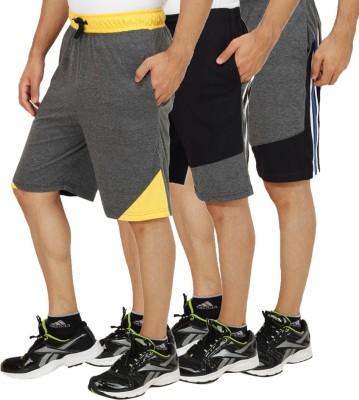 Rakshita Collection Solid Men's Multicolor Basic Shorts