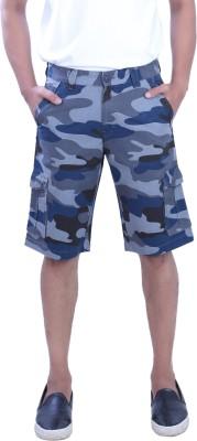 PECOS BILL Self Design Men's Multicolor Chino Shorts