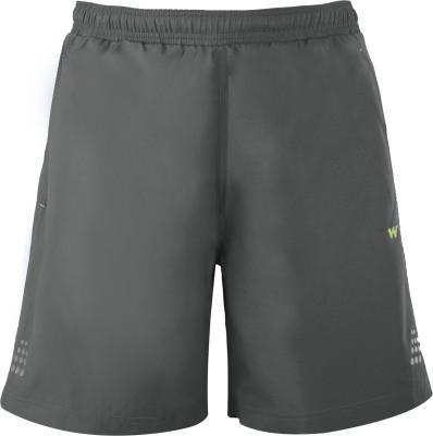 Wildcraft Solid Men's Grey Running Shorts