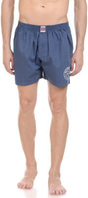 California Club Checkered Men's Black Boxer Shorts