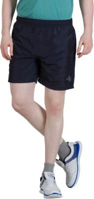 Goodluck Solid Men,s Black, Blue Sports Shorts