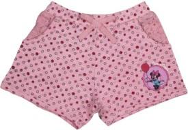 Little Star Solid Girl's Basic Shorts