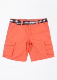 Nautica Short For Boys Cotton(Orange)