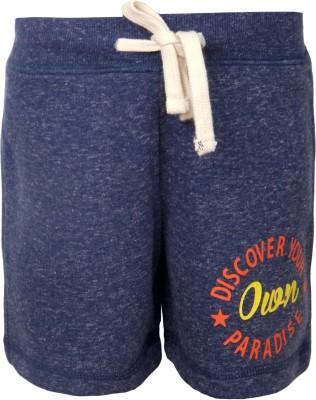 Vitamins Solid Girl,s Dark Blue Basic Shorts