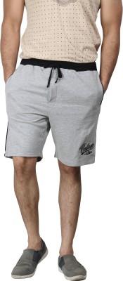 Design Classics Solid Men's Grey Night Shorts