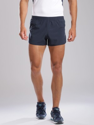 HRX by Hrithik Roshan Solid Men's Dark Blue Sports Shorts