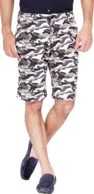 urbantouch Printed Men's Brown Basic Shorts