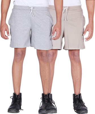 Frang Solid Men's Multicolor Bermuda Shorts
