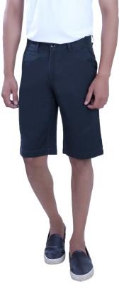 PECOS BILL Self Design Men's Blue Chino Shorts