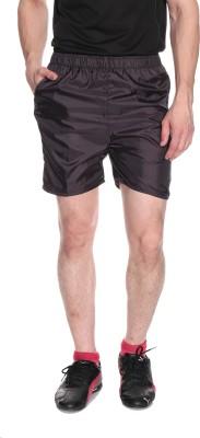 Fizzaro Solid Men's Reversible Brown Boxer Shorts