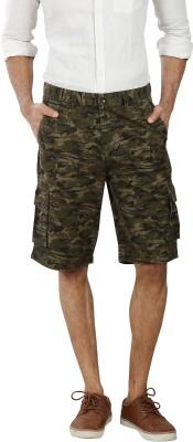 Pecos Bill Printed Men's Multicolor Cargo Shorts
