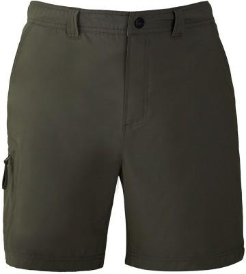 Wildcraft Solid Men's Green Sports Shorts
