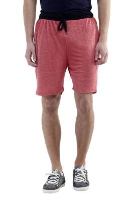 Meebaw Self Design Men,s Red, Grey, Grey, Pink, Pink Sports Shorts