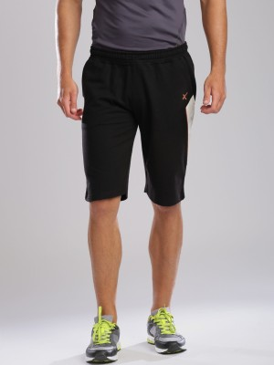 HRX by Hrithik Roshan Solid Men's Black Basic Shorts