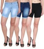 Ansh Fashion Wear Solid Women's Blue, Bl...
