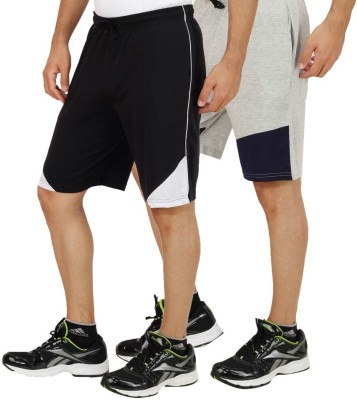Rakshita Collection Solid Men,s Multicolor Sports Shorts