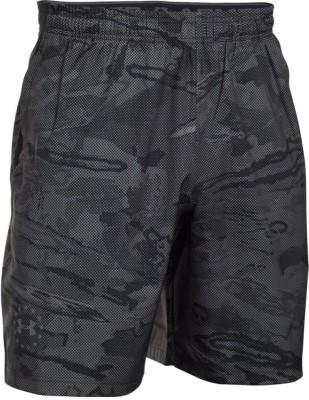 Under Armour Woven Men,s Black Sports Shorts