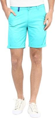Silver Streak Solid Men,s Light Green Chino Shorts