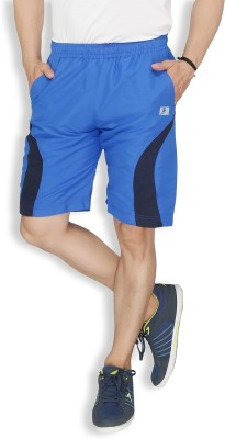 Live In Solid Men's Light Blue Sports Shorts