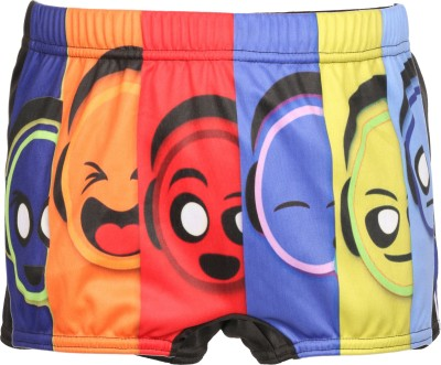 Mitushi Products Graphic Print Boy's Multicolor Swim Shorts