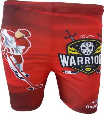 Mitushi Products Printed Men's Red Swim Shorts
