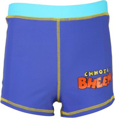 Chhota Bheem Solid Boy's Multicolor Beach Shorts, Swim Shorts, Board Shorts