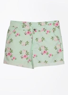 United Colors of Benetton Women's Shorts at flipkart