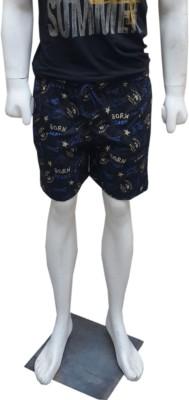Belladonna Printed Men's Multicolor Basic Shorts