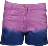 Joshua Tree Short For Girls Cotton (Purp...