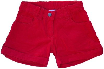 Snoby Solid Baby Boy's Multicolor Basic Shorts