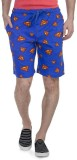 Superman Printed Men's Blue Basic Shorts...