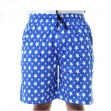 Shootr Printed Men's Blue Bermuda Shorts