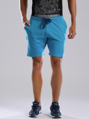 HRX by Hrithik Roshan Solid Men's Blue Sports Shorts