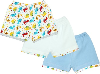 Mom & Me Printed Baby Boy's Multicolor Basic Shorts
