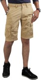 Thinc Solid Men's Gold Cargo Shorts
