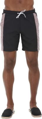 Zobello Printed Mens Multicolor Swim Shorts