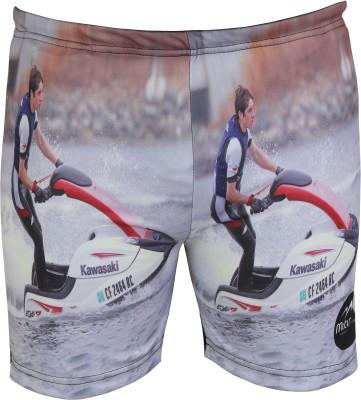 Mitushi Printed Men's Multicolor Swim Shorts