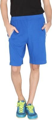 LUCfashion Solid Men's Blue, Grey Sports Shorts