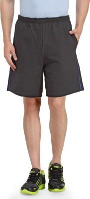 Happy Hippie Solid Men's Black, Blue Gym Shorts