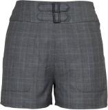 Fabulloso Checkered Women's Grey Basic S...