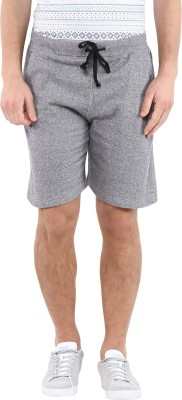 American Crew Solid Men's Dark Blue, White Basic Shorts