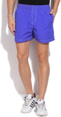 Russell Athletic Solid Men's Blue Sports Shorts