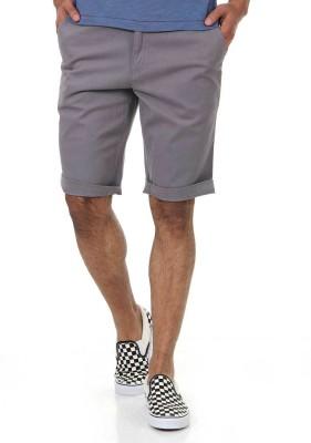 Shapes Solid Men's Grey Chino Shorts