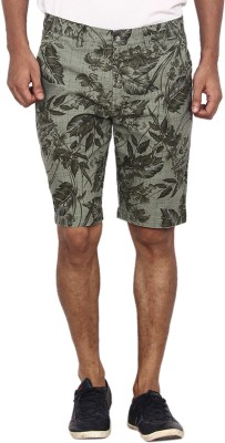 Hack Self Design Men's Multicolor Chino Shorts