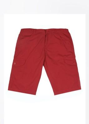 612 League Boy's Red Basic Shorts