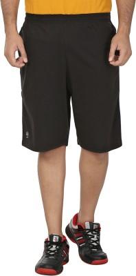 SST Harringbone Men's Black Basic Shorts