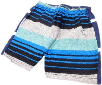 DCS Striped Baby Boy's Multicolor Basic Shorts