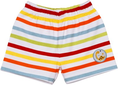 Mom & Me Striped Baby Boy's Multicolor Basic Shorts