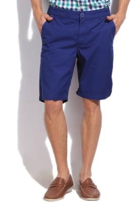 Puma Solid Mens Blue Basic Shorts
